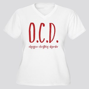 Christmas Obsessed Plus Size T-Shirt