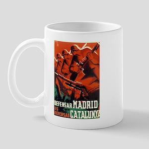 Defense of Madrid/Catalunya Mug