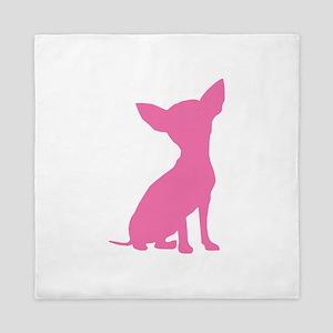 Pink Chihuahua - Queen Duvet