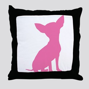 Pink Chihuahua - Throw Pillow