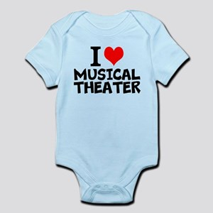 I Love Musical Theater Body Suit