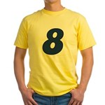 Adorable 8 Yellow T-Shirt
