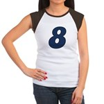 Adorable 8 Women's Cap Sleeve T-Shirt