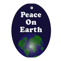 Peace on Earth (Christmas Tree Ornament)