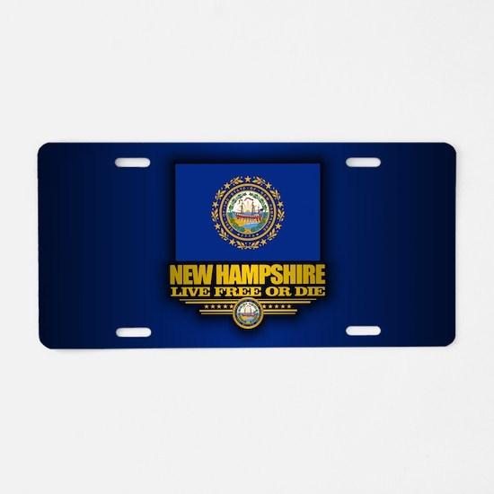 New Hampshire (v15) Aluminum License Plate