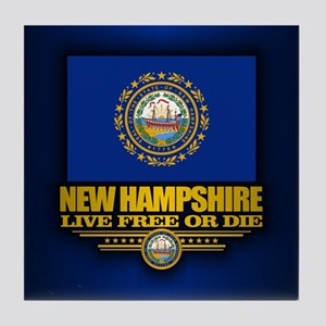 New Hampshire (v15) Tile Coaster
