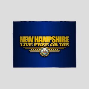 New Hampshire (v15) 5'x7'Area Rug