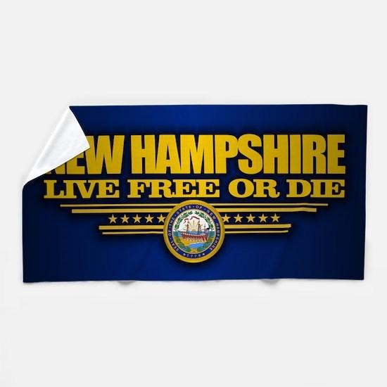 New Hampshire (v15) Beach Towel