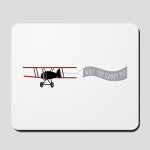 Marry Sky Sign Mousepad