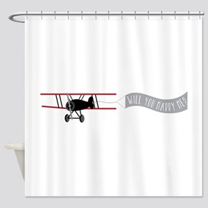 Marry Sky Sign Shower Curtain