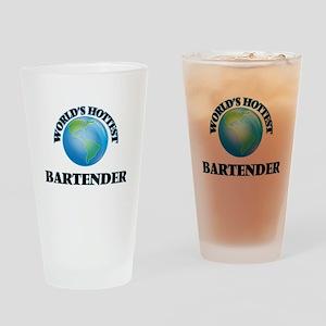World's Hottest Bartender Drinking Glass