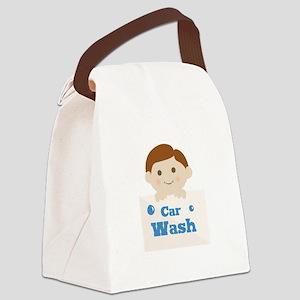 Car Wash Canvas Lunch Bag