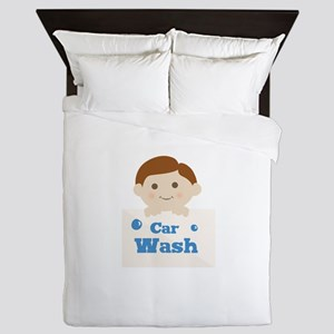 Car Wash Queen Duvet