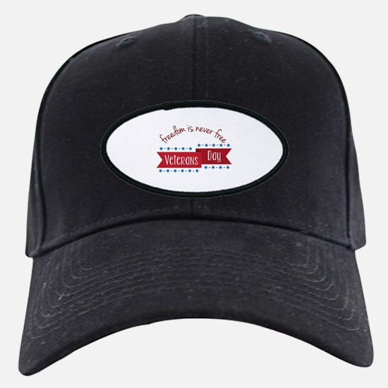 Freedom Veterans Baseball Hat
