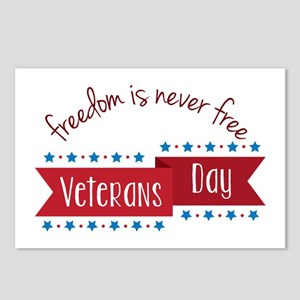 Freedom Veterans Postcards (Package of 8)
