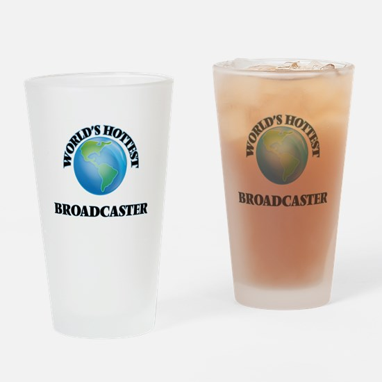 World's Hottest Broadcaster Drinking Glass