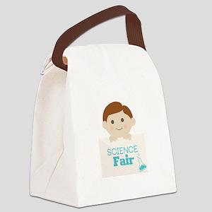 Science Fair Canvas Lunch Bag