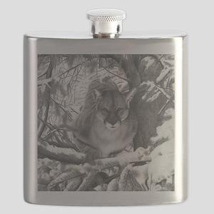 Cougar Design Flask