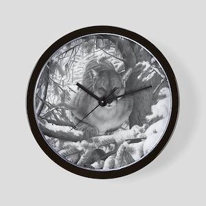 Cougar Design Wall Clock