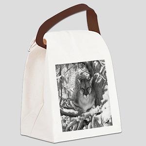 Cougar Design Canvas Lunch Bag