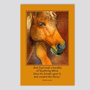 Golden Horse Postcards (Package of 8)