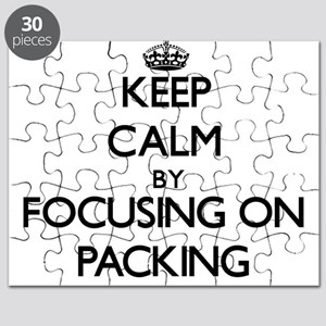 Keep Calm by focusing on Packing Puzzle