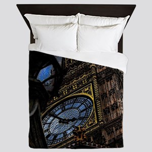 Tower Big Ben London Queen Duvet