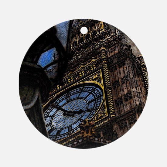 Tower Big Ben London Ornament (Round)