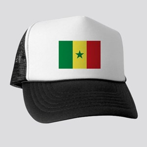 Senegal Flag Trucker Hat
