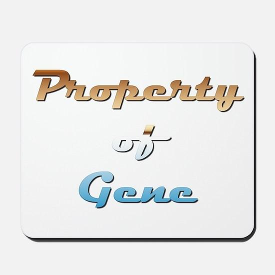 Property Of Gene Male Mousepad