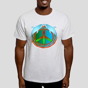 Dolphin Peace Light T-Shirt