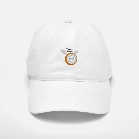 Time Is Fleeting Baseball Baseball Baseball Cap