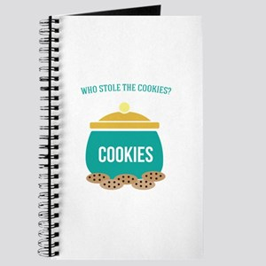 Who Stole the Cookies Journal