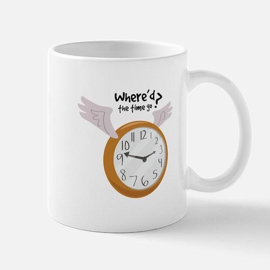 Where'd The Time Go? Mugs