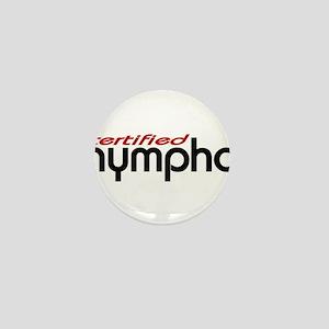 nymphos Mini Button