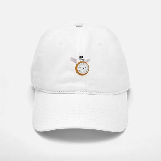 Time Flies Baseball Baseball Baseball Cap