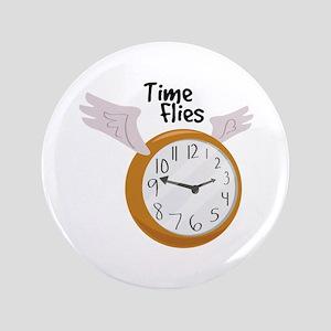 "Time Flies 3.5"" Button"