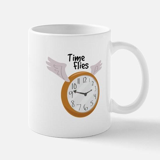 Time Flies Mugs