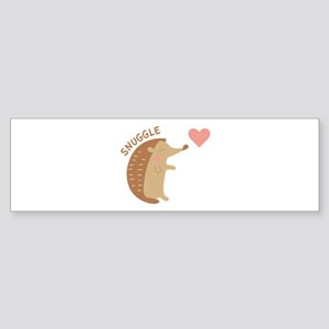 Snuggle Bumper Sticker