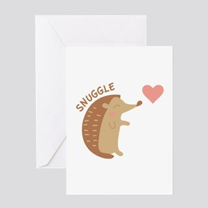 Snuggle Greeting Cards