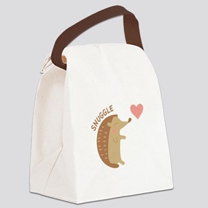 Snuggle Canvas Lunch Bag