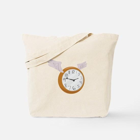 Time Flies By! Tote Bag
