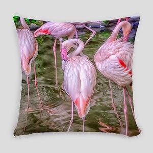 Pink Flamingos Master Pillow
