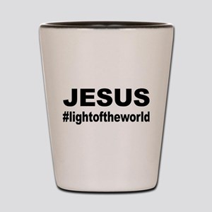 Jesus #lightoftheworld Shot Glass