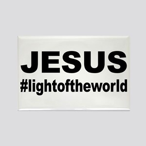 Jesus #lightoftheworld Magnets
