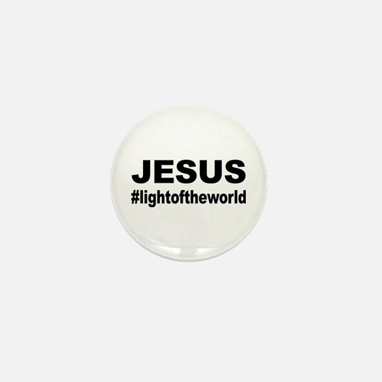 Jesus #lightoftheworld Mini Button