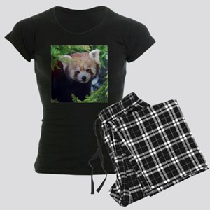 Red Panda Women's Dark Pajamas