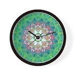Kamla Yantra Mandala Wall Clock