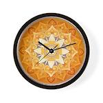 Bhuvaneshwari Yantra Wall Clock