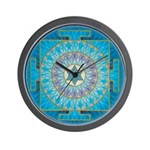 Moon Yantra Wall Clock